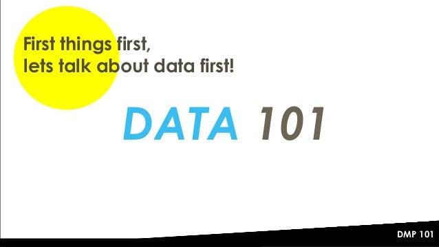 The DMP 101 - Data Management Platforms Explained Slide 2