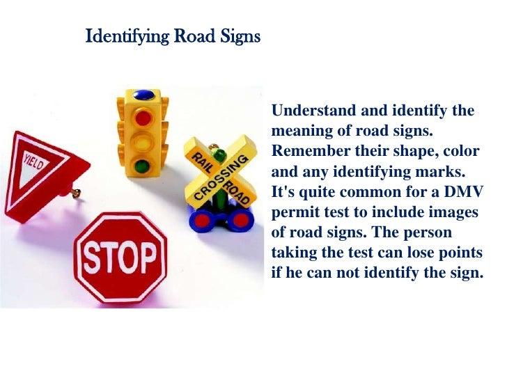 Signs study permit test
