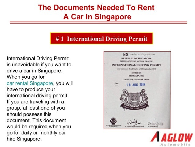 the documents needed to rent a car in singapore. Black Bedroom Furniture Sets. Home Design Ideas