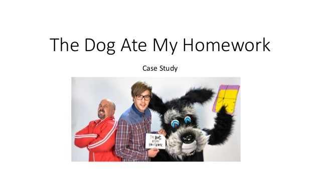 My dog ate my homework origin