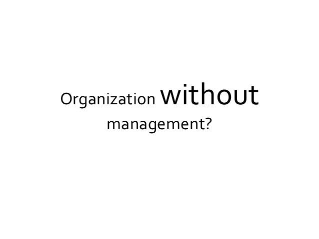 """Self-organization… a definition """"Self-organization is a process of attraction and repulsion in which the internal organiza..."""