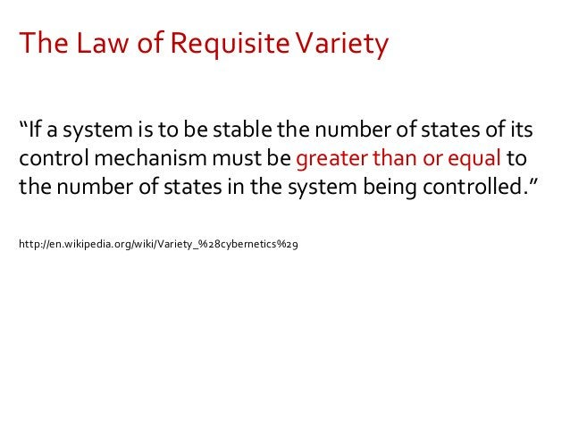 Therefore, management requires… Distributed governance and leadership