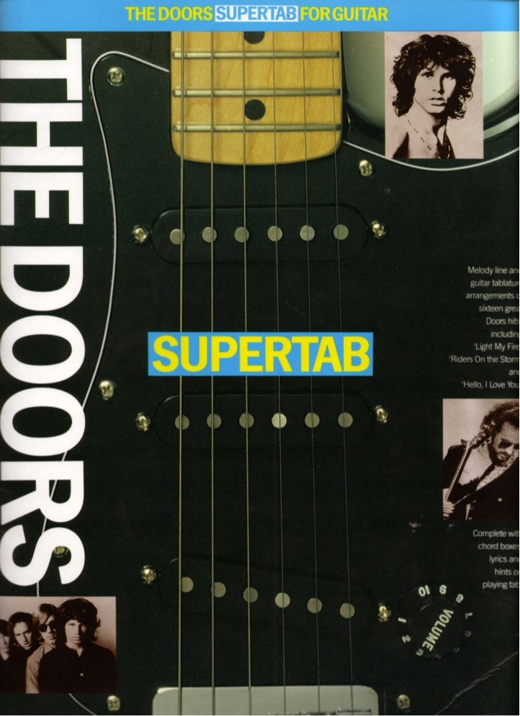 The Doors Supertab For Guitar Music Sheet