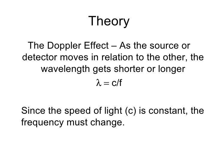 The Doppler Effect Slide 2