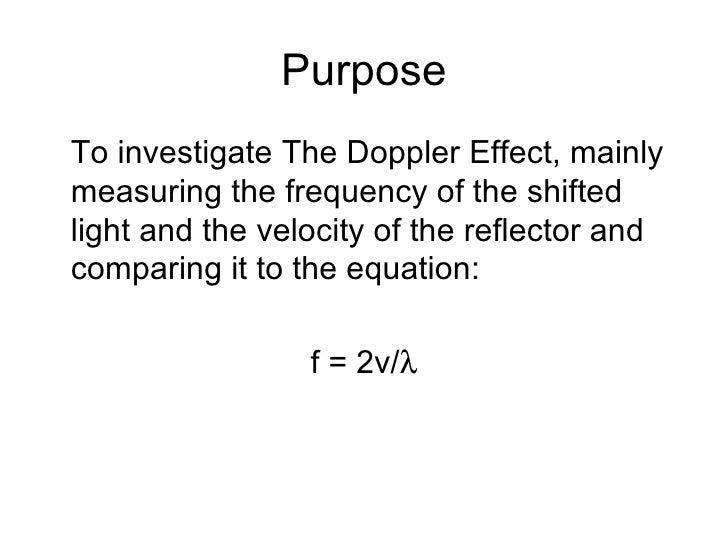 The Doppler Effect Slide 3