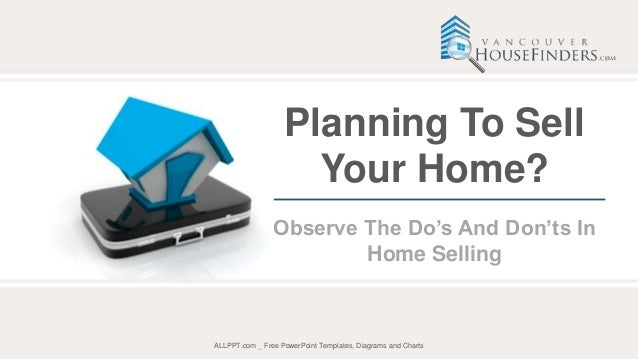Planning To Sell Your Home? Observe The Do's And Don'ts In Home Selli…