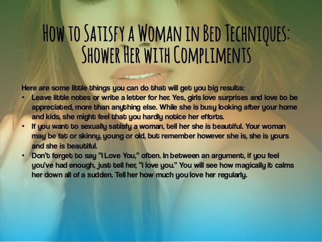 How to sexually please a woman photo 3