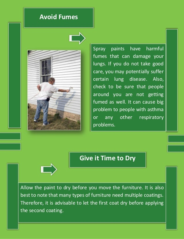 The Do's And Don'ts Of Spray Painting For Residential And