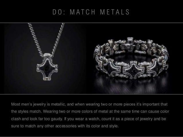 The Dos and Donts of Wearing Mens Jewelry