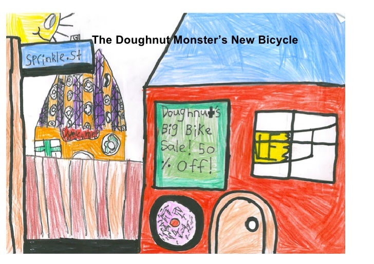 The Doughnut Monster's New Bicycle