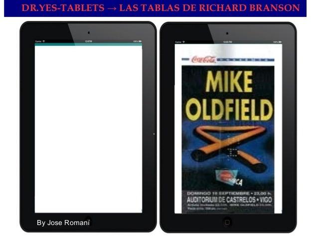 DR.YES-TABLETS → LAS TABLAS DE RICHARD BRANSON By Jose Romaní
