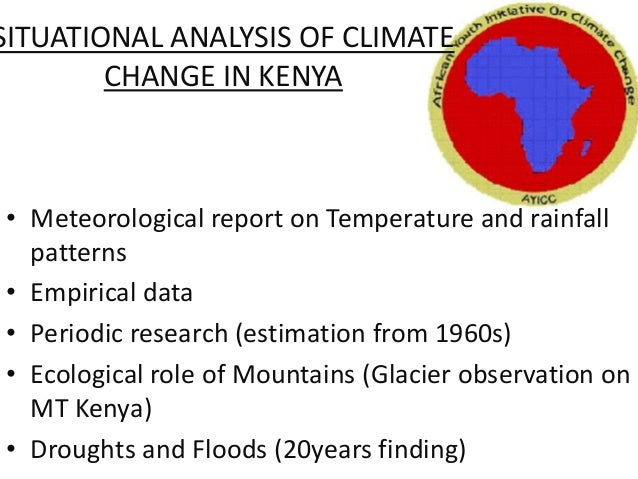 kenya climate report Republic of kenya kenya gazette supplement acts, 2016 nairobi, 13th may, 2016 content act - page the climate change act, 2016 34—reports 35—transitional.