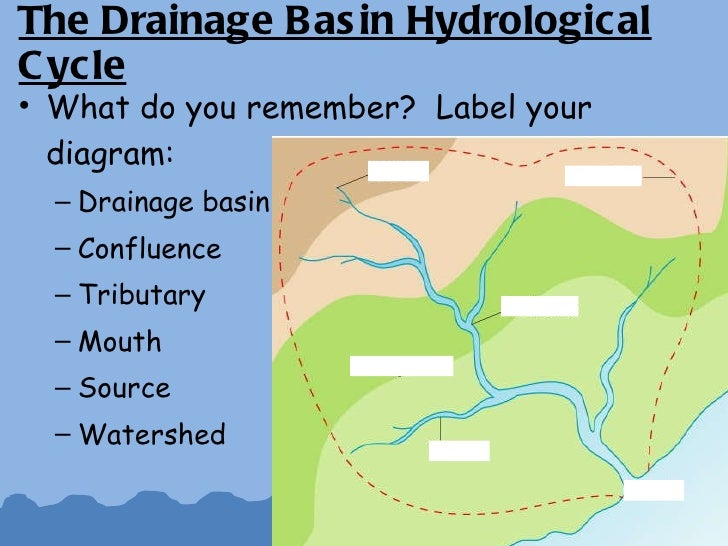 The drainage basin