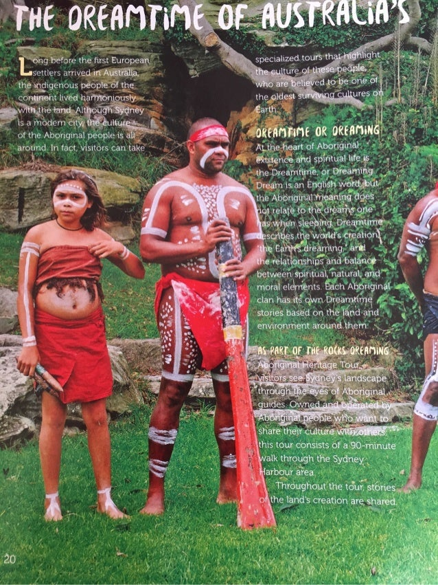 The Dreamtime of Australia's Aboriginal People by Colette Weil Parrinello, FACES magazine, Cobblestone Publications
