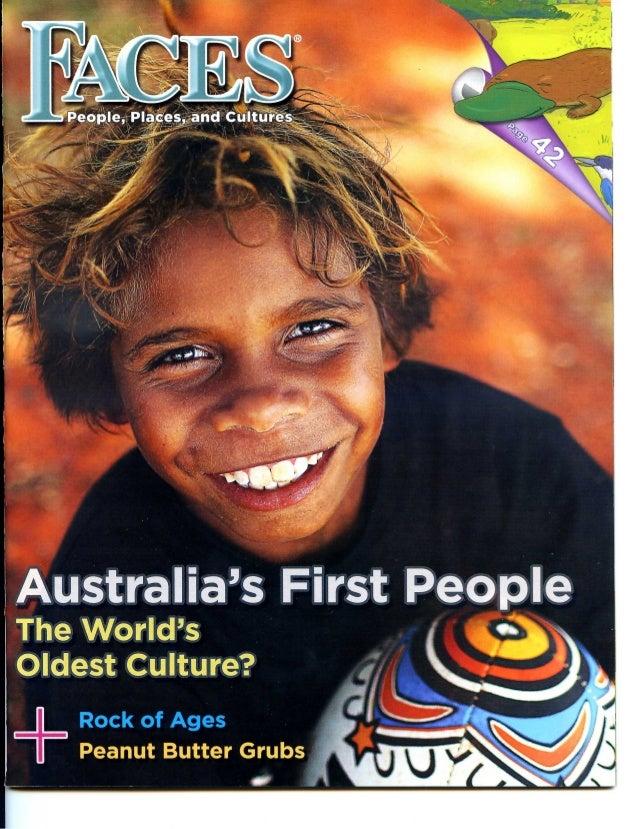 The Dreamtime of Australia's Aboriginal People, reprinted with permission, Faces magazine/Cobblestone publishing