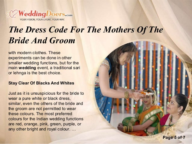 The Dress Code For The Mothers Of The Bride And Groom