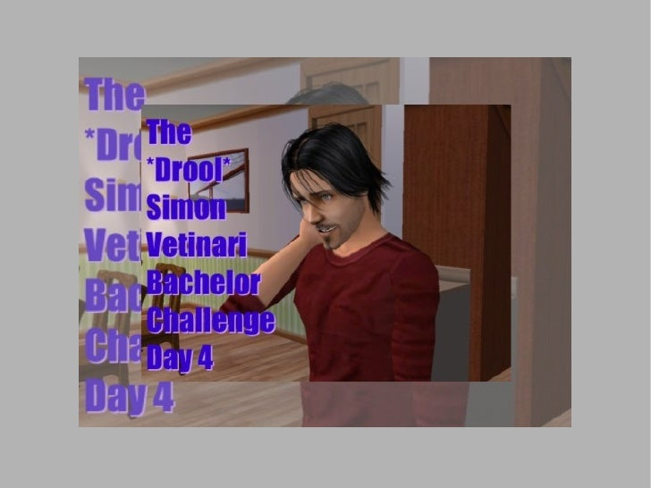 Break out your bibs and buckets: It's time for the *Drool* Simon Vetinari Bachelor Challenge!  This is Day 4: things with ...