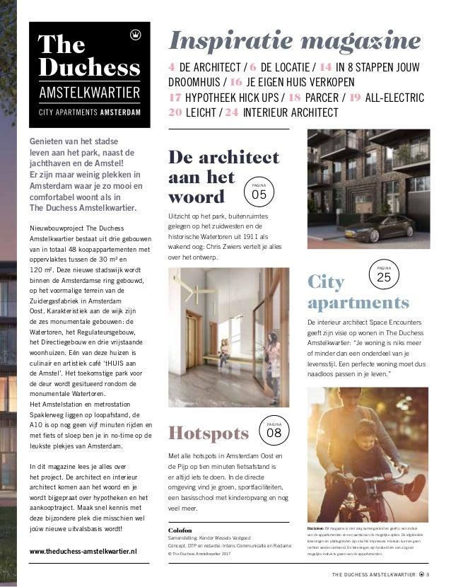 The Duchess Amstelkwartier Magazine Online Slide 3