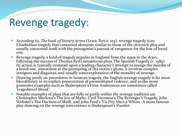 duchess of malfi as a revenge tragedy