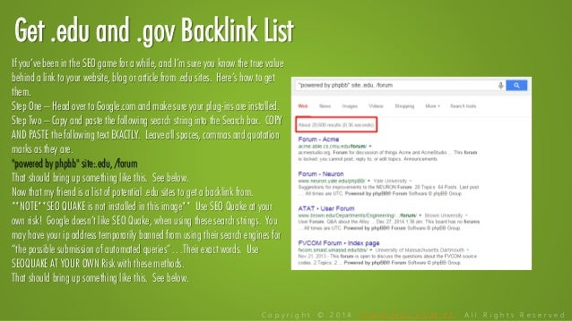 The duck soup link building guide