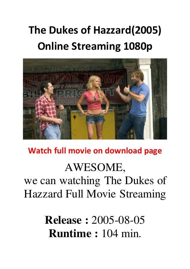 duke of hazzard full movie 2005