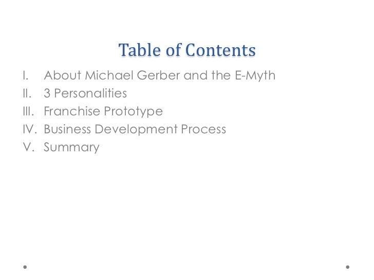 The E-Myth by Michael Gerber Slide 2