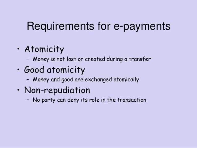 non functional requirements of electronic payment systems 19072018  if you're considering developing your own payroll system, or purchasing one, you should be concerned with both functional and nonfunctional aspects of the.