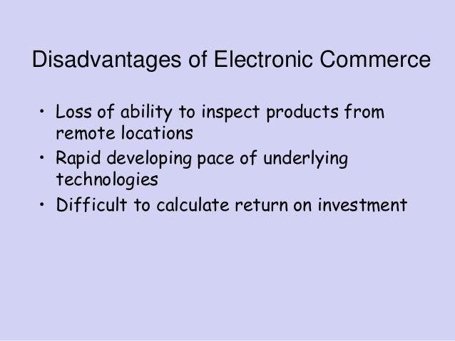 The Electronic Payment Systems
