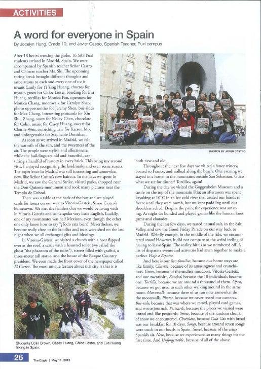 The Eagle - May 11, 2012
