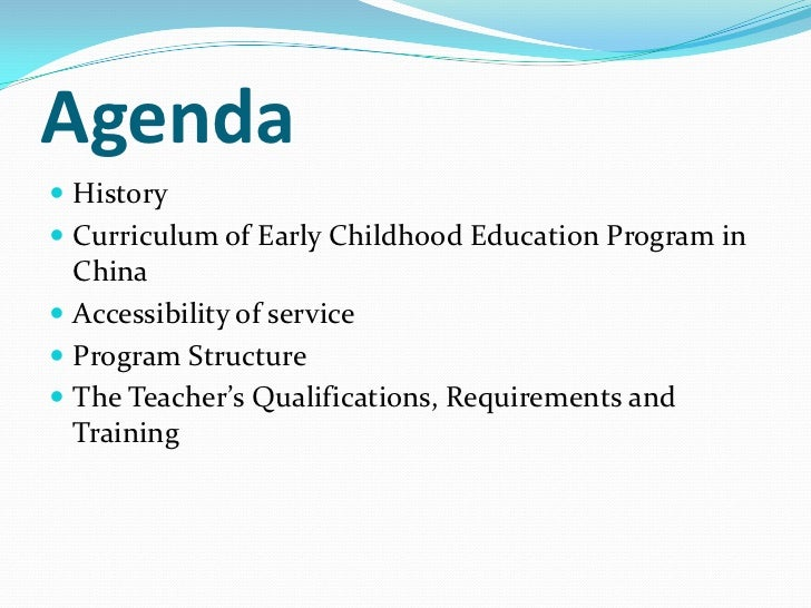 history of early childhood education Rousseau's ideas on the importance early childhood are in sharp  emilia approach to early childhood education  american educational history .
