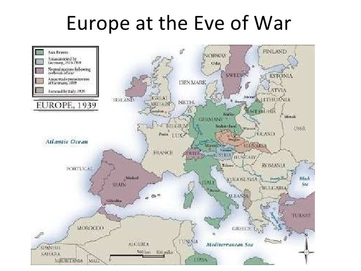 Europe at the Eve of War