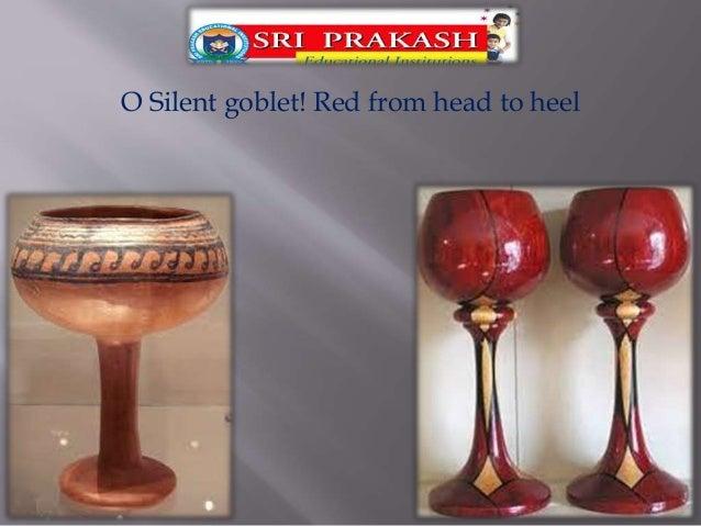 The earthen goblet. - Harindranath Chattopadhyaya. Slide 2