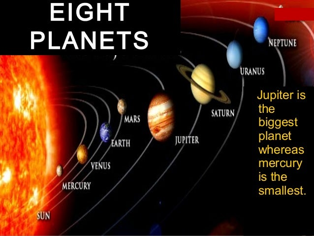 all planets smallest to largest - photo #10