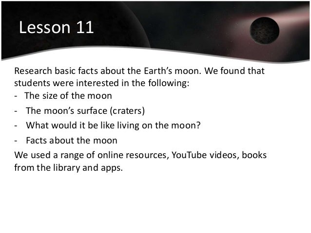 Moon Facts For Kids Homework Clip - image 11