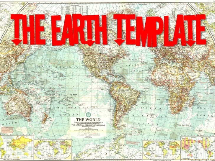 The Earth Template