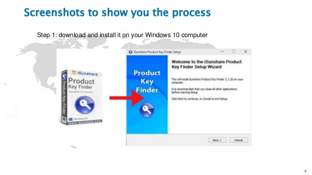 The easiest way to find windows 10 product key