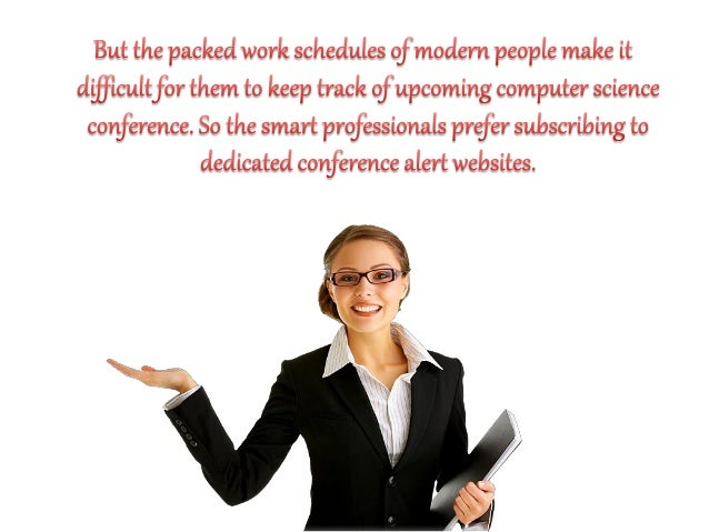 The easiest way to track computer science conference