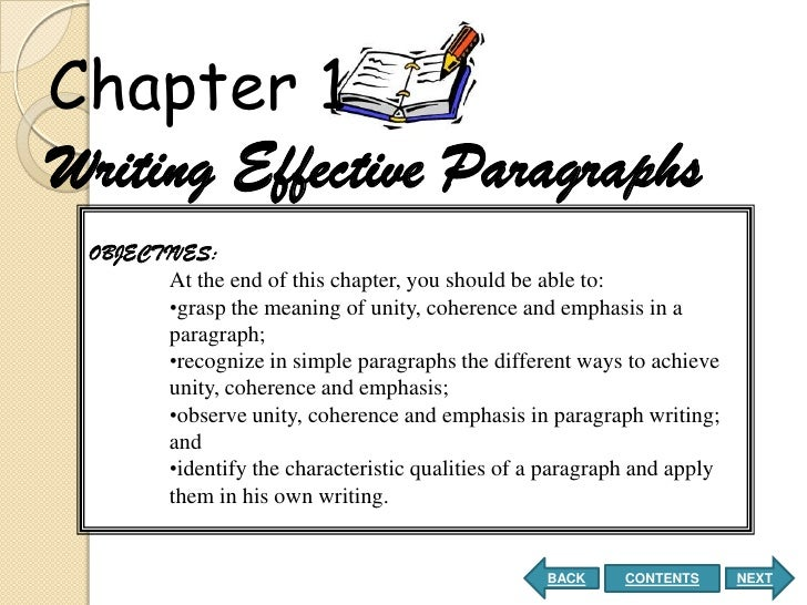 coherence in paragraph exercises