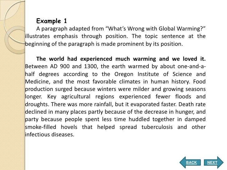 easy paragraph writing