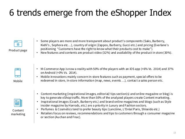 The ECommerce Reference Index Based On The EShopper Journey - Fake invoice maker burberry outlet online store