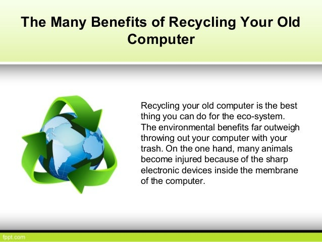 environment benefits of recycling Recycling metal has numerous benefits for the environment compared with  making products from recycled metal, the production of new metal.