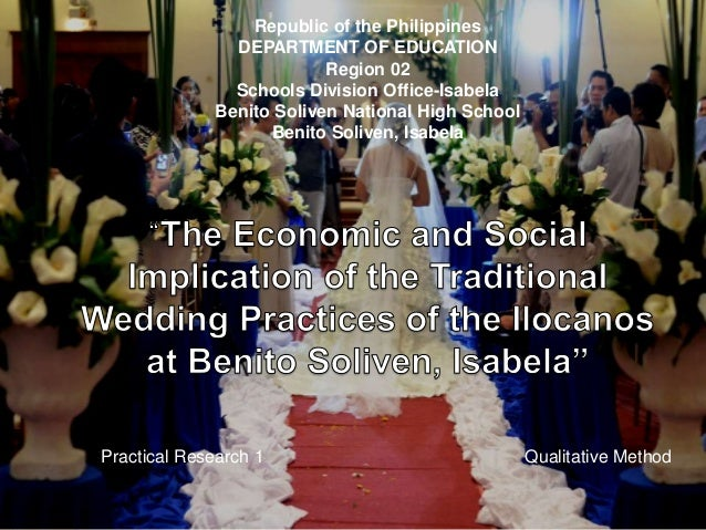 The Economic and Social Implication of the Traditional Wedding Practi…