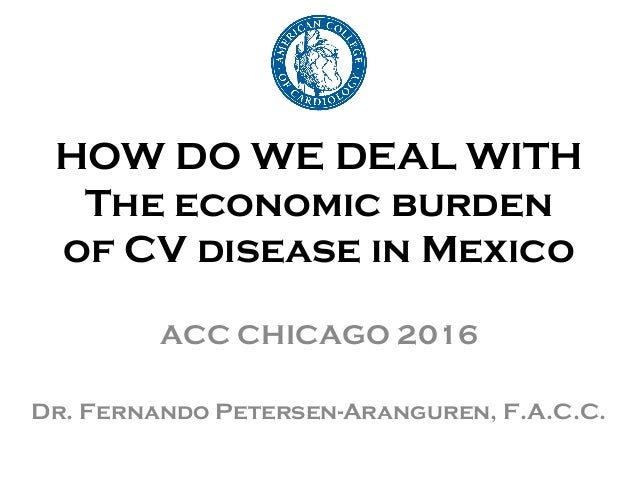 the economic burden of cardiovascular disease in mexico