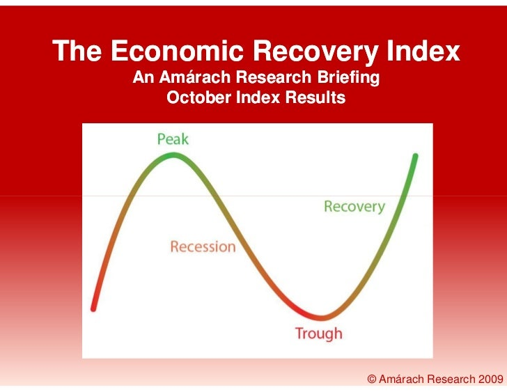 The Economic Recovery Index      An Amárach Research Briefing          October Index Results                              ...