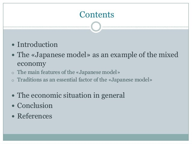 an analysis of japans economic system The economic history of japan is most studied for the one of the biggest impacts on the economy that the meiji period brought was the end of the feudal system.