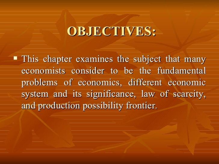 The Economic System Slide 2