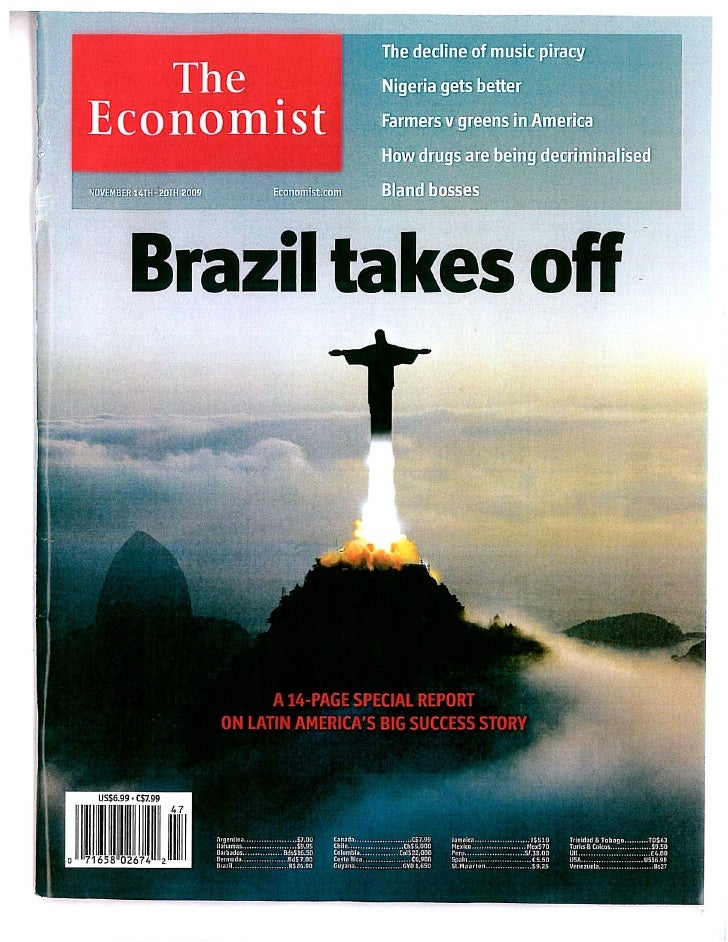 The Economist Special Report   Brazil Takes Off