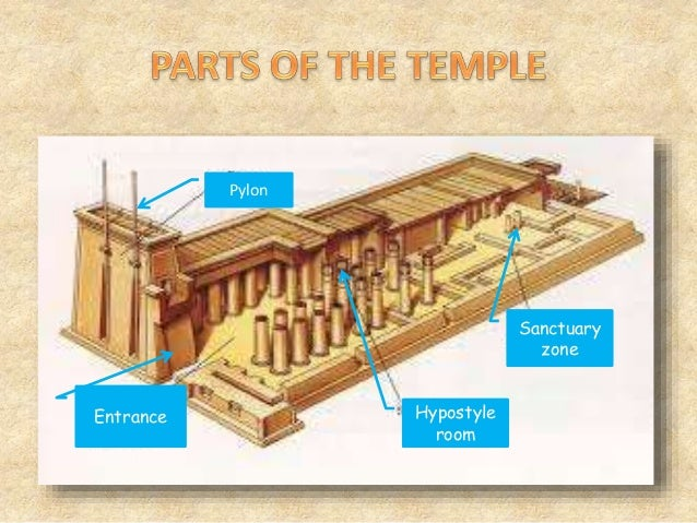 The edfu temple