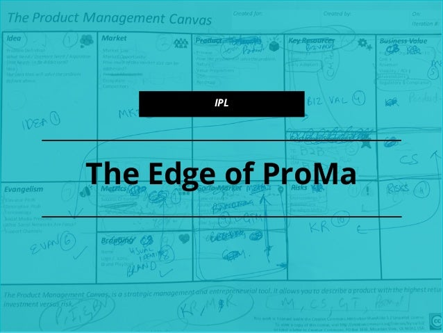The Edge of ProMa IPL