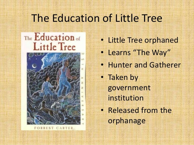 education of little tree essay Learning from little tree: the political education of the counterculture  this  essay will set out to understand how the figure of the native american came to.